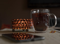 @ home (michael_hamburg69) Tags: tea tee smartphone teelichtvonpeterstilllife
