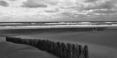 Soledad (mavricich) Tags: monocromo monocromático mar monochrome móvil sea océano ocean atlántico atlantic paisaje landscape seascape