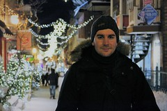 IMG_3198 (2) (huguesasnard) Tags: quebec city canada petit champlain rue street christmas winter hivers cold night castle tower snow neige chateau canoneos100d