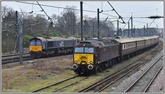 Holgate Dec 12th 2018 (Mark's Train pictures) Tags: wcrc westcoastrailwaycompany westcoastrailways directrailservices drs class66 class66shed class57 holgate holgateloop holgatesidings 66427 57313