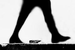 Winter walk... (JM@MC) Tags: shadow ombre walk avignon blackandwhite noiretblanc streetphotography