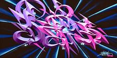 Happy New Year 2019 (Ciceruacchio) Tags: happynewyear 2019 shakewellfestival2018 streetart artderue artedistrada artist artiste graffeur graffiti damslim abstract abstrait astratto abstraction galaxy galaxie galassia pessac france francia frankreich nikond750