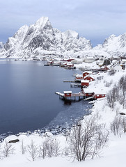 Winter Wonderland, Reine, Lofoten, Norway (MelvinNicholsonPhotography) Tags: reine norway lofoten winter snow ice