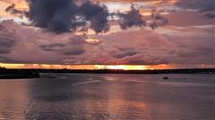 Brasília - Sunset (sileneandrade10) Tags: sileneandrade brasília pôrdosol paisagem céu água reflexo landscape nuvens lagoparanoá lago viagem turismo hdr photoedition photoart photoediting windowsphotoeditor nikoncoolpixp900 nikon