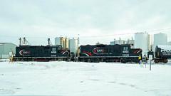_DSC7087A CCGX 4021 (Colin Arnot) Tags: railroad railway locomotive switching edmonton eastedmonton cando candorailservices gp9u ccgx4021 gp9rm ccgx4018