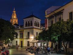 Judería (LpuntoQpunto) Tags: córdoba sunset bluehour atardecer horaazul anda andalucia spain españa mezquita mosque church iglesias iglesia