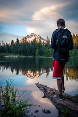 Looking Out (kephart_kyle) Tags: beautiful fam hood jake lit mt oregon park paul photos rainier savage squad stunning sunset tatooshnational washington