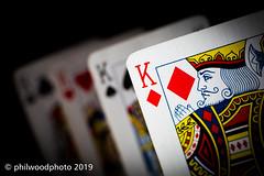 365-2019-010 - Diamond Geezer! (phil wood photo) Tags: 365 365colorfun 365colourfun 50mm cards color365 colour365 day10 diamonds dof extensiontubes january king kings macro red geezer