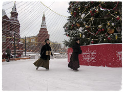 Christmas in Russia... (lyudmila fomina) Tags: canon mygearandme autofocus christmasinrussia christmasinmoscow christmas people winter snow old