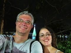 img_0675 (Ricardo Jurczyk Pinheiro) Tags: reflexo água iluminação selfie árvoredenatal ricardo lagoarodrigodefreitas mariacláudia riodejaneiro