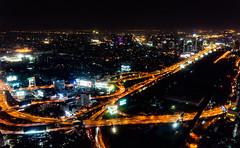 View of Bangkok from Baiyoke Sky Hotel