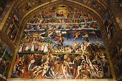 iran dec 18 (110) (gerboam) Tags: iran december 2018 heaven hell painting church interior
