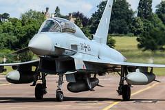 Eurofighter EF2000T 30+05 (MichaelHind) Tags: german air forceluftwaffe taktisches luftwaffengeschwader 74tlg74 nörvenich ab riat 2016 raf fairford eurofighter ef2000t 3005 airshow aviation royalinternationalairtattoo raffairford luftwaffe germanairforce