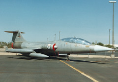 F-104C 57-1296 901 B Jordanian AF Thunderbird Aviation (spbullimore) Tags: jordan royal jordanian air force rjaf 901 b 571296 thunderbird aviation deer valley airport phoenix arizona az usa 1994 lockheed starfighter f104 f104c