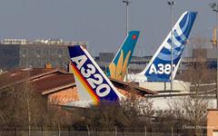 Between 2 Flight Test Bench (Flox Papa) Tags: fwwai airbus industrie a320111 msn 001 fwwft fwwba 320 a320 211 200 fwwow a380841 a380 380 388 fwzfw vn vietnam airlines a350941 297 359 350 900