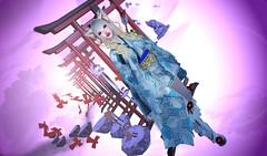 [Ay]_New Haori (kyoka jun) Tags: 和風ay japonica aysesodeotoshi adeyakko secondlife sl secondlifefashion secondlifeblog kimono mini セカンドライフ 着物市じゃぽにか新年初詣 和もの市 haori caderu careru sesodeotoshi