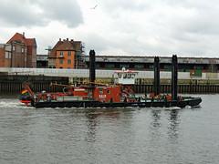 Ägir (ENI 05026330) (Parchimer) Tags: arbeitsschiff workboat baggerponton dredger wsa hamburg hafen hansahafen