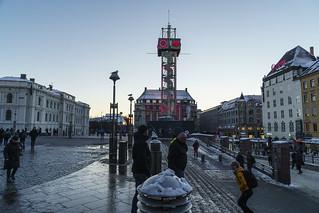 The Ruter watch at Oslo Sentralstation