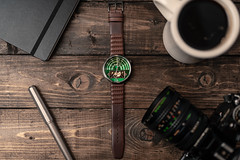 Have Time (Muhammad Al-Qatam) Tags: nikon d850 product still life watch time write green xeric halograph2 wood
