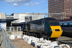 Great Western Railway HST 43005 (Will Swain) Tags: reading station 21st june 2018 gwr class 43 high speed berkshire city centre south train trains rail railway railways transport travel uk britain vehicle vehicles england english europe great western hst 43005 5
