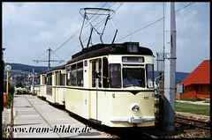 141-1995-07-19-1-Winzerla (steffenhege) Tags: jena jenah strasenbahn streetcar tram tramway gothawagen gothazug dreiwagenzug 141