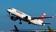 HB-JCI Swiss Bombardier CSeries CS300 (BD-500-1A11) (Niall McCormick) Tags: dublin airport eidw aircraft airliner dub aviation hbjci swiss bombardier cseries cs300 bd5001a11