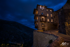 The Creaking House (TVZ Photography) Tags: hanginghouses casascolgadas cuenca castile–lamancha spain europe city night evening longexposure lowlight bluehour sonya7riii zeiss loxia 21mm