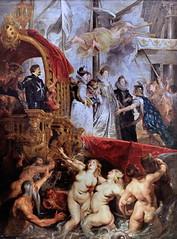 IMG_4204B Pierre Paul Rubens. 1577-1640.    Cycle de la Vie de Marie de Médicis.  Cycle of the Life of Marie de Medici Louvre. (jean louis mazieres) Tags: peintres peintures painting musée museum museo lafemmedanslapeintureeuropéenne thewomanineuropeanpainting