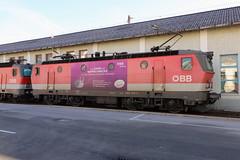 ÖBB 1144 017-1 Napfschnecke, Innsbruck (TaurusES64U4) Tags: öbb 1144