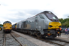Direct Rail Services 68014 (Will Swain) Tags: crewe gresty bridge depot open day 21st july 2018 drs cheshire north west south county train trains rail railway railways transport travel uk britain vehicle vehicles england english europe direct services 68014 class 68 014