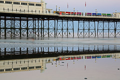 2018_05_06_0219 (EJ Bergin) Tags: sussex westsussex landscape worthing sunset beach sea seaside worthingpier seafront reflection