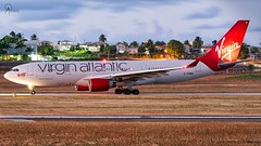 Virgin Atlantic | G-VWND | Airbus A330-223 | BGI (Terris Scott Photography) Tags: pw4168 aircraft airplane aviation plane spotting nikon d750 travel barbados jet jetliner virgin atlantic airbus a330 200 gatwick sky tamron 70200mm f28 di vc usd g2
