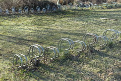 Bike racks @ Plage du Bout du Lac @ Doussard @ Walk in Sources du Lac d'Annecy (*_*) Tags: february afternoon 2019 hiver winter savoie sourcesdulacdannecy walk randonnée nature hiking mountain marche europe france hautesavoie 74 annecy doussard