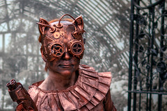 RockinRedhead (jmishefske) Tags: d800e domes nikon march mitchell statue wisconsin steampunk show park milwaukee 2019 gears gardens alice wilson living