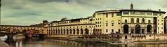 Tris museale (bellinipaolo31) Tags: fc03911 paolobellini toscana firenze città paesi pontevecchio corridoiovasariano galleriadegliuffizi arno fiume monumenti