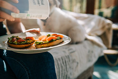 The Lure..... (christilou1) Tags: sony a7riii zeiss batis 40mm dog girl food snack salt