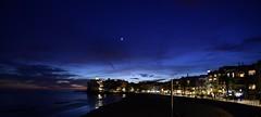 Sitges (pescarolo041) Tags: sitges sunset bluehour sky blue catalunya catalonia barcelona spain nikonphotography nikon d7200