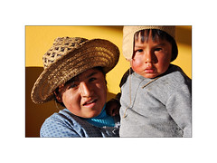 Enfants d'Ocomisto-1 (philippeprovost1) Tags: children enfants bolivia altiplano el alto jaune colors education
