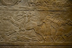 London 2018 – British Museum – Fighting on a camel (Michiel2005) Tags: ashurbanipal camel kameel fight war assyria exhibition tentoonstelling assyrian relief reliëf britishmuseum bm uk unitedkingdom greatbritain vk verenigdkoninkrijk grootbrittannië engeland england london londen