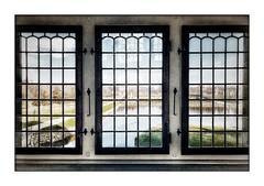 Three windows (Jean-Louis DUMAS) Tags: jardin parc window fenêtre hdr château castle vitre voyage trip travel danemark