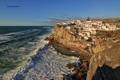 Azenhas do Mar (cpscoa) Tags: portugal azenhasdomar oceanoatlantico mar água canon
