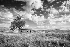 Home on the Range (danielledupreephotography) Tags: oklahoma texas landscape architecture canon prairie great plains pink granite wichitamountainswildliferefuge cannonball home sky blackandwhite female photographer 5dmkiii