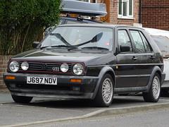 1991 Volkswagen Golf GTI 16v (Neil's classics) Tags: vehicle 1991 volkswagen golf gti 16v vw car