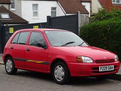 1997 Totota Starlet 1.3 Sportif (Neil's classics) Tags: vehicle 1997 totota starlet 13 sportif car