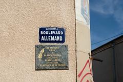 DSA07134.jpg (Bernard Ddd) Tags: libération ftp 1944 13003 albertblanc georgesblanc plaquecommémorative boulevardallemand marseille bouchesdurhône france fr