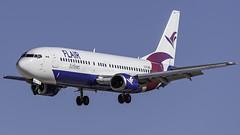 C-FLRS_LAS_Landing_26L (MAB757200) Tags: flairairlines b737490 cflrs aircraft airplane airlines airport jetliner landing las klas boeing runway26l mccarran