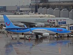 G-FDZT Boeing 737-800 of TUI Airways (SteveDHall) Tags: 2018 egcc man mcr aircraft airport aviation airfield aerodrome aeroplane airplane airliner airliners manchester manchesterairport ringway rain gfdzt boeing737800 tuiairways tui boeing b737 boeing737 b738 b737800 737 737800 738