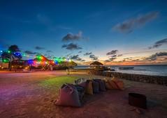 Bonaire Summer Nights (Brook-Ward) Tags: hdr brook ward bonaire island country caribbean sea ocean water sand beach beachbum beachlife saltlife sky blue sunset sunrise travel vacation holiday summer nights colorful