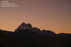 Monviso-dal-colle-dell'Agnello-di- Cesare Re (Cesare Re) Tags: cesarere monviso valvaraita alba alpi montagna montagne piemonte piedmont