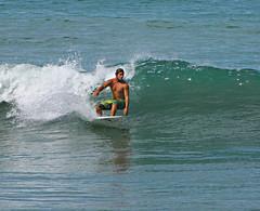 Surfer Dude (Colorado Sands) Tags: surf dude pacific manuelantonio costarica surfing guy man westcoast sandraleidholdt centralamerica wave surfer pacificocean people costarican water ocean sea